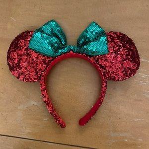 Christmas Disney Ears